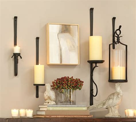 Candle Sconce Pottery Barn by Artisanal Wall Mount Candleholder Pottery Barn