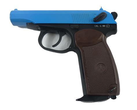 Two Tone KWC co2 Makarov Gas Blowback Airsoft Pistol ...
