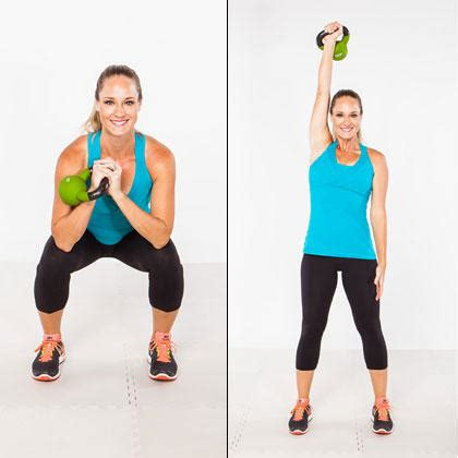 kettlebell press push shape workouts