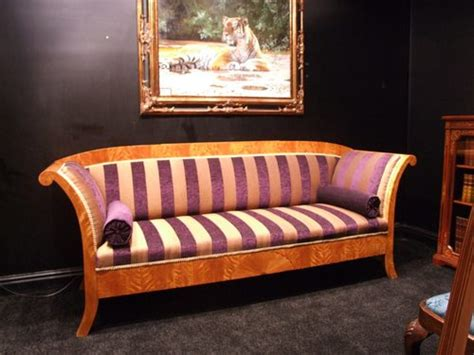 Biedermeier Sofa by Satin Birch Biedermeier Sofa Antiques Atlas