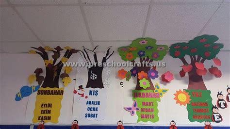 seasons craft ideas  preschool preschool  kindergarten