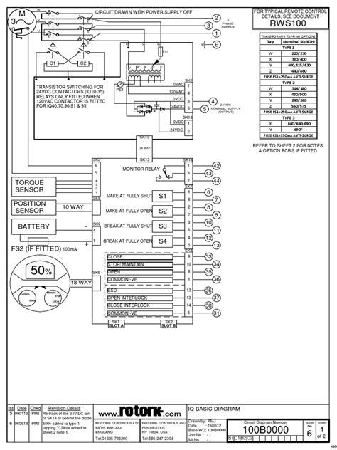 rotork iq10 wiring diagram 26 wiring diagram images