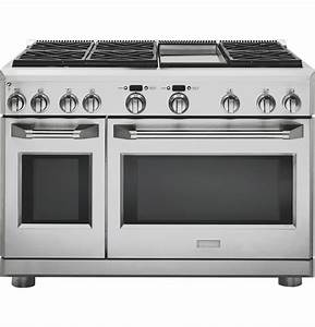 Monogram 48 U0026quot  All Gas Professional Range With 6 Burners And