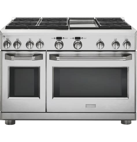 "Monogram 48"" All Gas Professional Range with 6 Burners and"