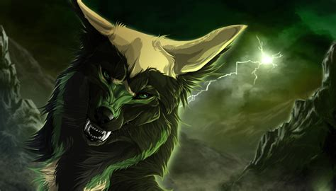 Animated Images Wallpapers - cool animated wolf images wallpaper