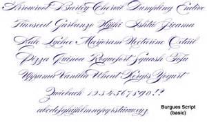 Burgues Script Font