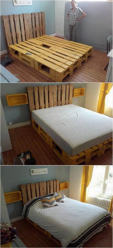 diy ideas  wood pallet beds diy motive part