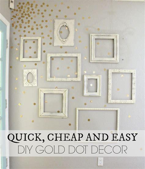 diy gold bedroom decor pixelated wall tutorial