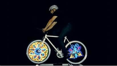Bicycle Monday Interesting Morning Spoke Lights Led