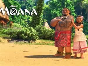 Moana Disney Movie Characters