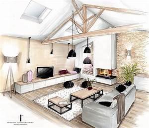 les 25 meilleures idees concernant croquis d39interieur sur With croquis d une maison 12 dessin de jardin en perspective le jardin de bastian