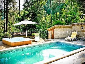 maison de vacances avec piscine banne ardeche coins With location vacances cevennes avec piscine