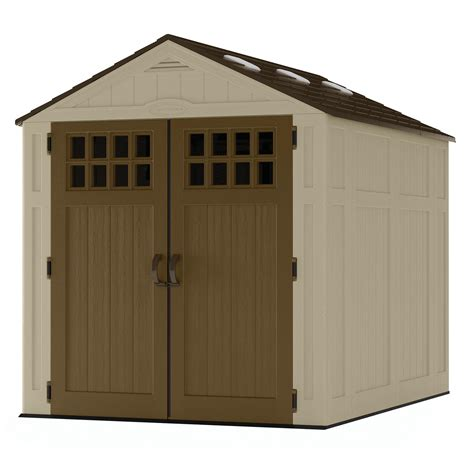 8 X 6 Resin Storage Shed by Suncast Bms6810 6 Ft X 8 Ft Resin Shed