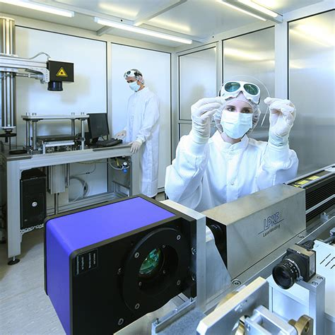 Plastics Welding New Cleanroom In Erlangen  Lpkf Laser