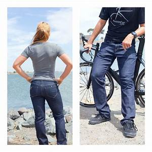 CapoVelo.com | Keirin Cut Cycling Jeans