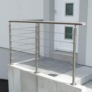 Mezzanine Metallique En Kit : kit garde corps inox 6 c bles la fran aise ~ Premium-room.com Idées de Décoration