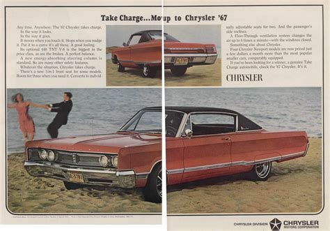 Chrysler Advertising by 1967 Chrysler Newport Advertisement Photo Picture