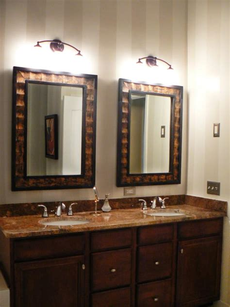 Pictures Of Bathroom Mirrors by 10 Beautiful Bathroom Mirrors Hgtv