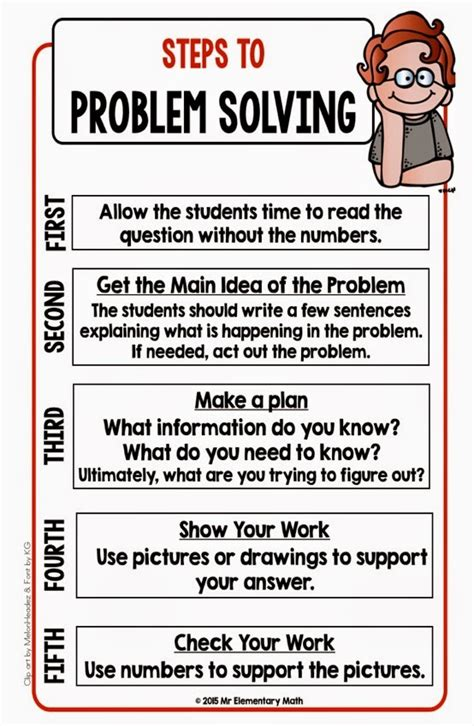 Math Problem Solving 101  Math Word Problems And Math Words