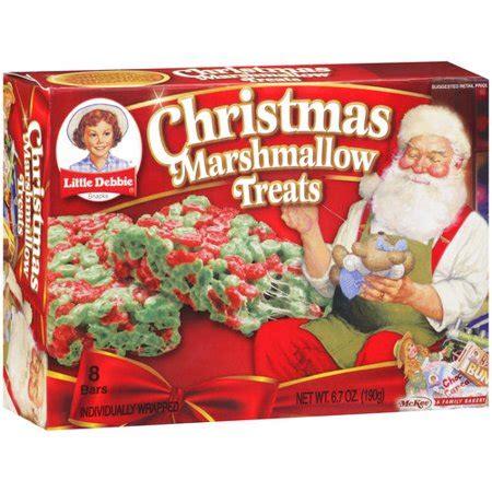 debbie snacks christmas marshmallow treats  ct