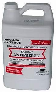 Alternatives Safety Ethylene Glycol Antifreeze