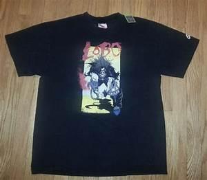 Free Tee Shirt Design Vtg 90s Lobo T Shirt Dc Comics Justice League Legion Rebels