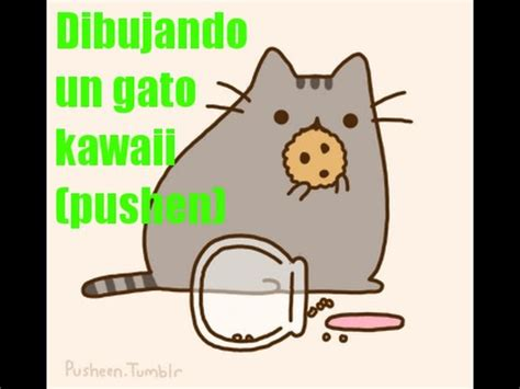 dibujando un gato kawaii