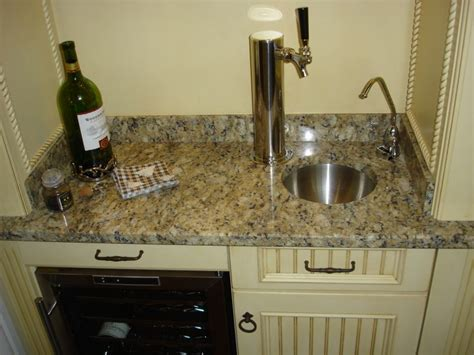 Custom Wet Bar Sink & Beer