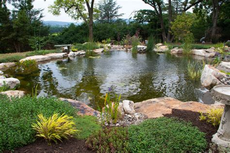 landscape with pond berks county pa pond waterfalls traditional landscape philadelphia by signature pond