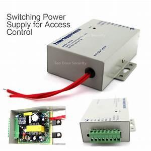 Door Access Control Power Supply Dc 12v 3a   Ac 110