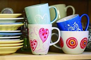Tassen Bemalen Kinder : porzellan bemalen kindergeburtstags ideen ~ Orissabook.com Haus und Dekorationen