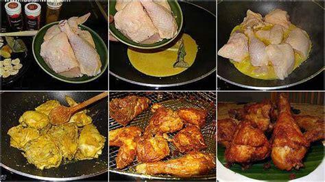 8 butir bawang merah 4 siung bawang putih 3 butir kemiri 2 cm. Resep Ayam Goreng Bumbu Kuning. Crispy dan Gurihnya Sampai ...