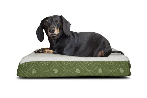 furhaven pet bed furhaven nap pet bed deluxe flannel egg crate orthopedic