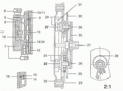 Caliper Parts Dial Spare Mitutoyo Vernier Monotaro