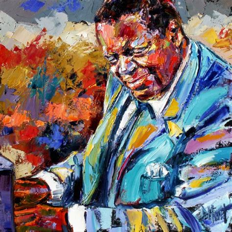 portrait artists international abstract jazz portrait paintings quot oscar peterson