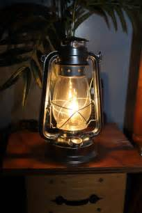 How To Light A Kerosene Lamp by Electric Hurricane Lantern Silver With Clear 40w Bulb Free