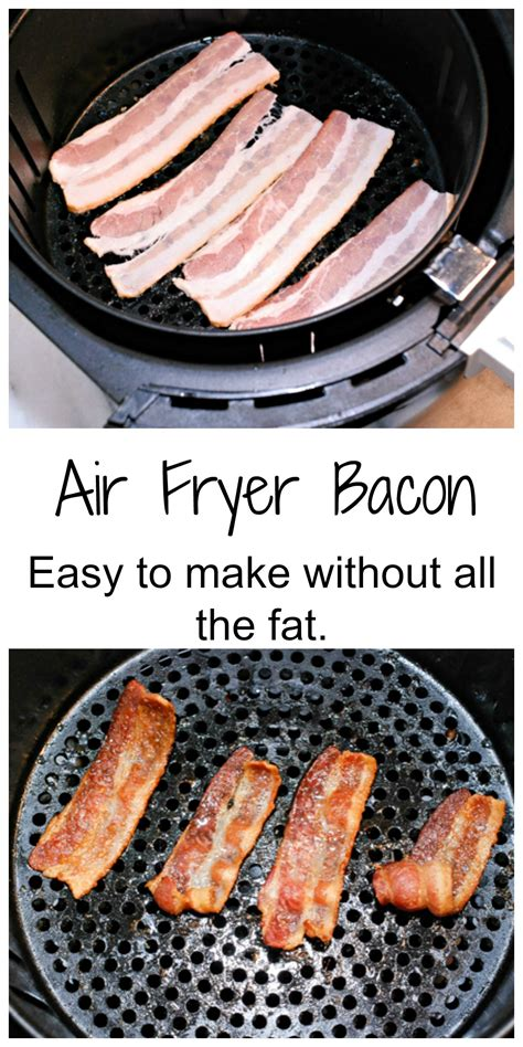 fryer bacon air airfryer