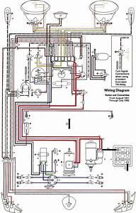 1966 1967 1968 1969 Vw Karmann Ghia Wiring Diagram