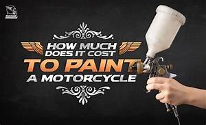 How Much Does It Cost To Paint A Motorcycle?