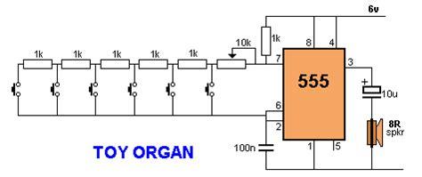 Atari Punk Organ Simple Synthesizer