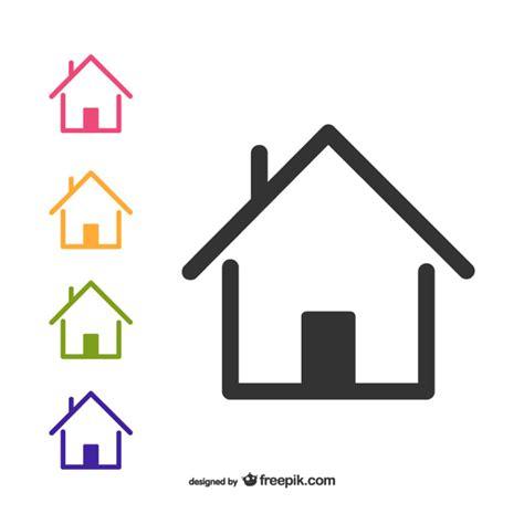 logo casa logotipos de casas descargar vectores gratis