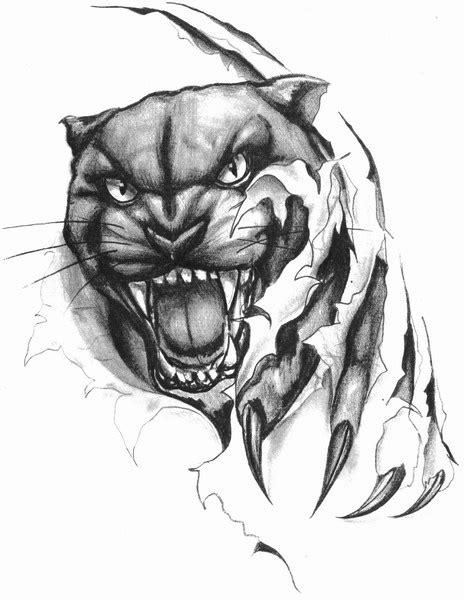 10+ Puma Tattoo Designs