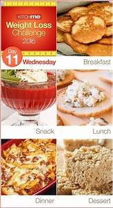 Day 11 Meal Plan – Weight Loss Challenge Recipes for