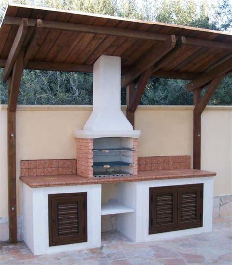 Cucine In Muratura Per Esterni by Barbecue Da Esterno In Muratura Con Barbecue Da Esterno
