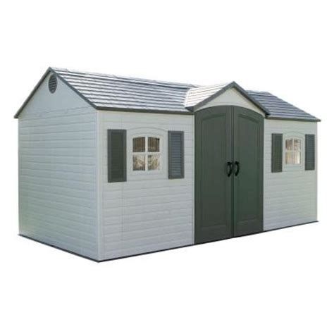 lifetime 15 ft x 8 ft outdoor garden shed 6446 the