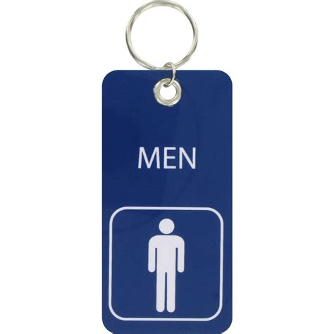 Bathroom Key Chain  Men's713001  The Home Depot