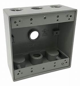 Sealproof 2 2 U2033 Holes Weatherproof Rectangular