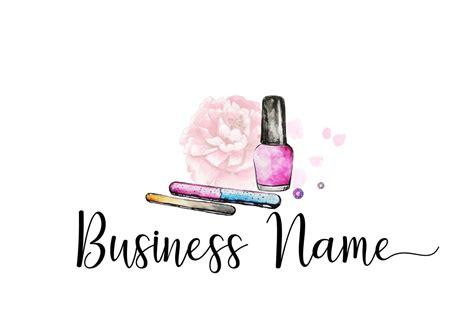 digital premade logo manicurist logo nail polish logo etsy