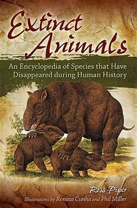 extinct animals  encyclopedia  species