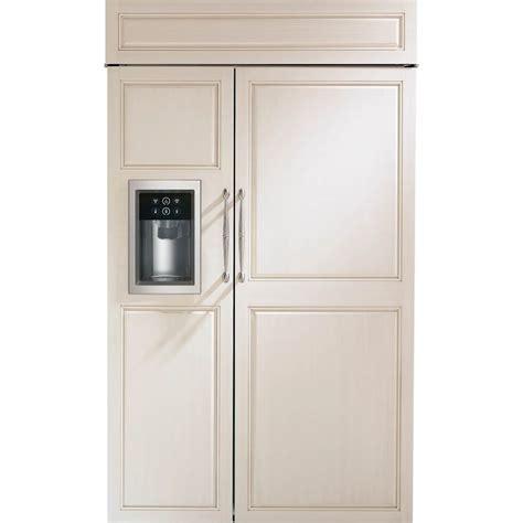monogram  cu ft side  side built  refrigerator
